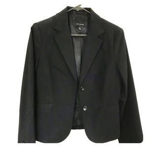 Limited Blk 2-Button Blazer. Sz 8. Modern Stretch